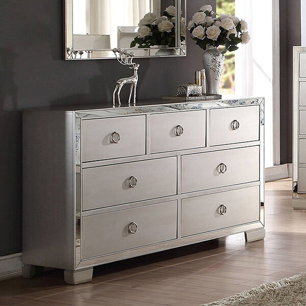 ACME Furniture Voeville II Dresser, Platinum
