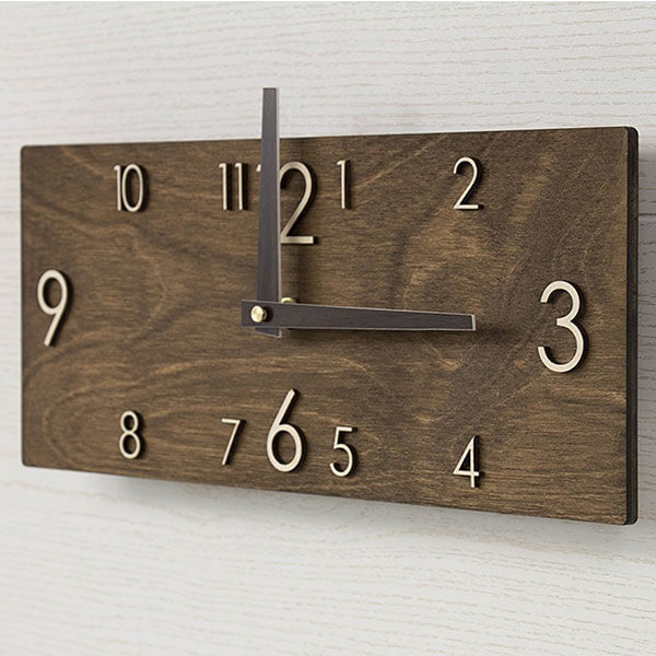 Promi Design Wooden Wall Clock