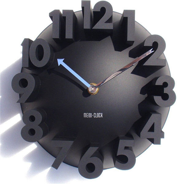 GCA Modern Wall Clock