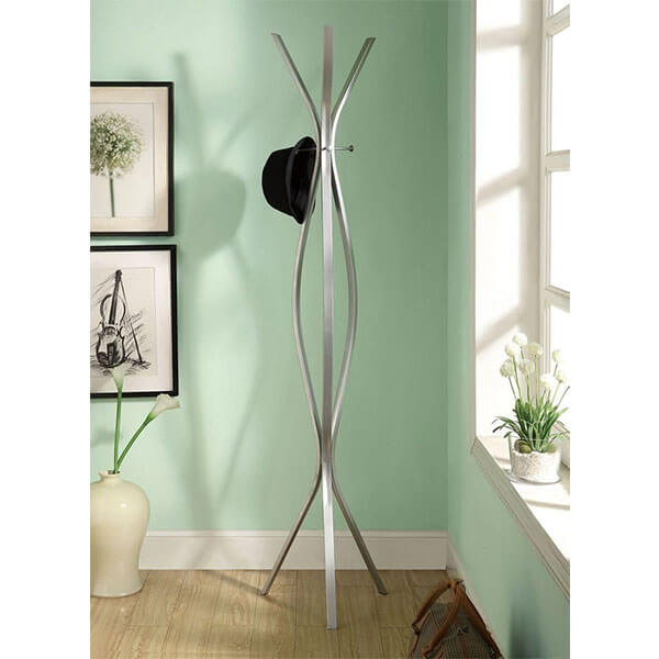 Monarch Specialties Contemporary High Coat Rack