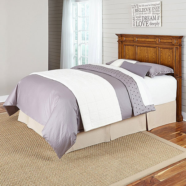 Home Styles Americana Headboard, Distressed Oak