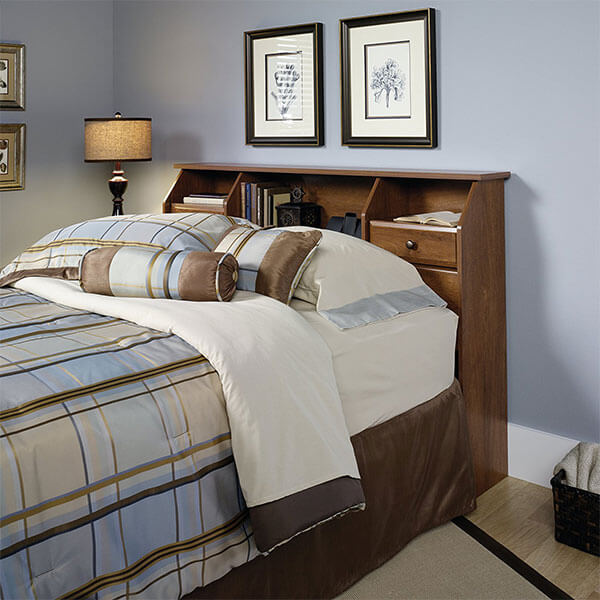 Sauder Shoal Creek Oiled Oak Headboard