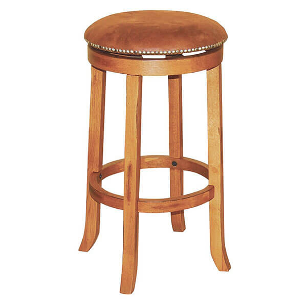 Sunny Designs Sedona Swivel Stool, Rustic Oak Finish