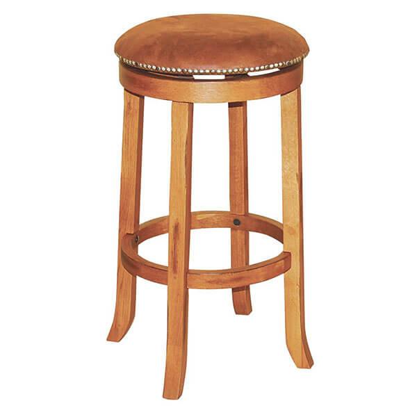 Sunny Designs Sedona Swivel Stool, Rustic Oak Finish