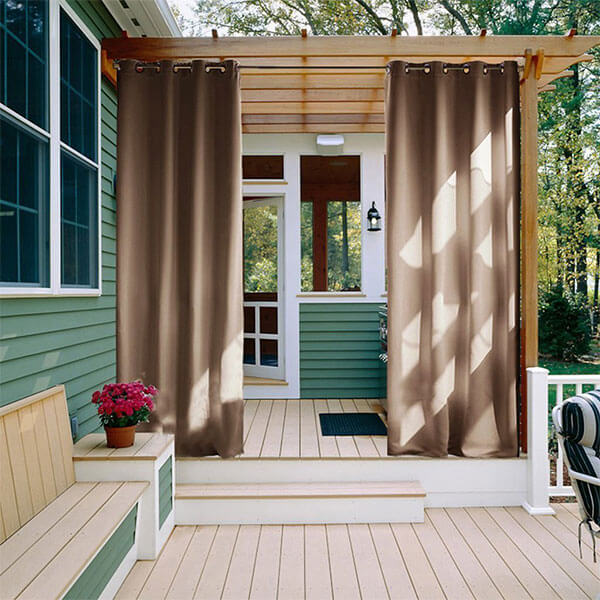NICETOWN Outdoor Curtain Panel