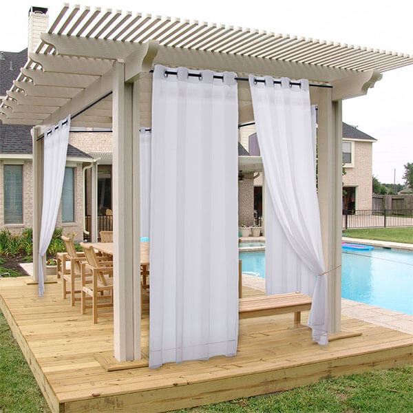 NICETOWN Outdoor Privacy Curtain