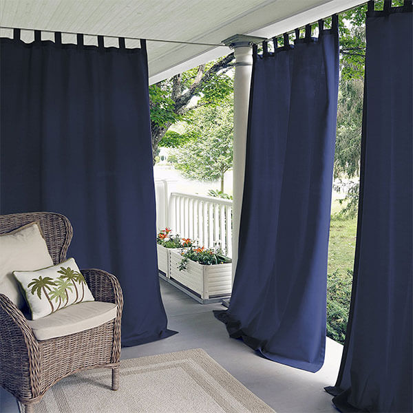 Elrene Home Fashions Outdoor Curtains