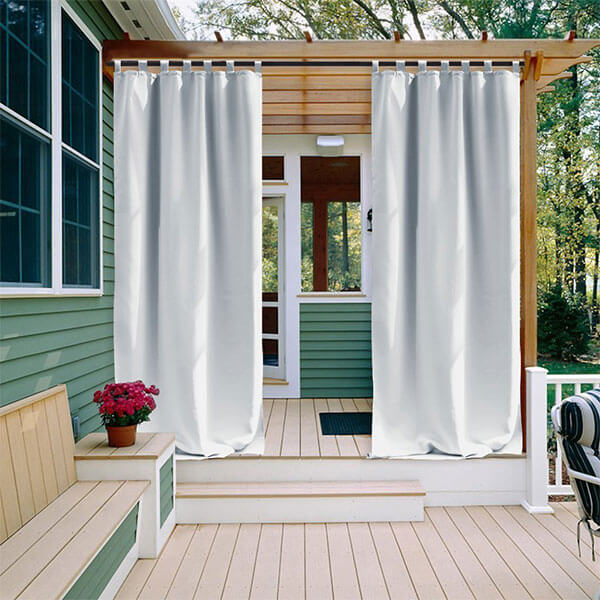 NICETOWN Room Darkening Outdoor Curtain