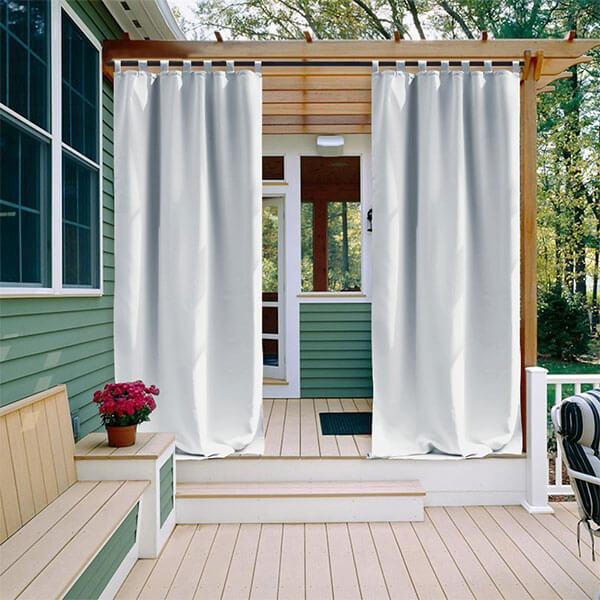 NICETOWN Room Darkening Outdoor Curtain