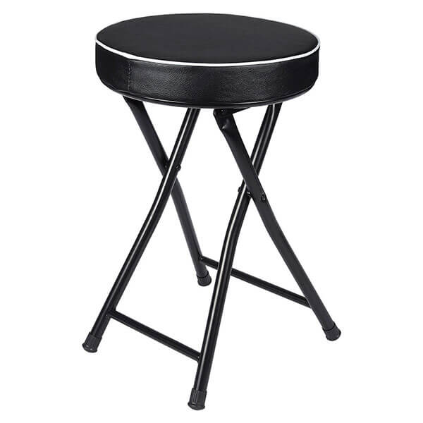 Juvale Padded Folding Stool
