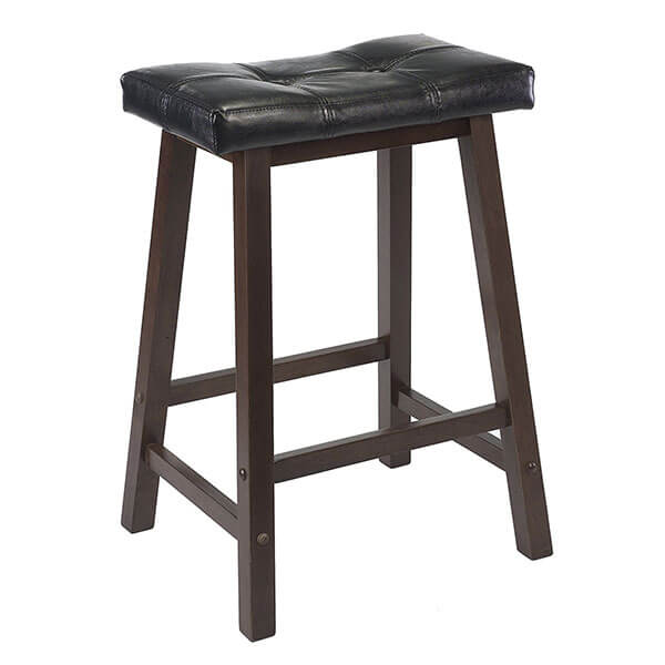 Winsome Mona Saddle Seat Padded Stool