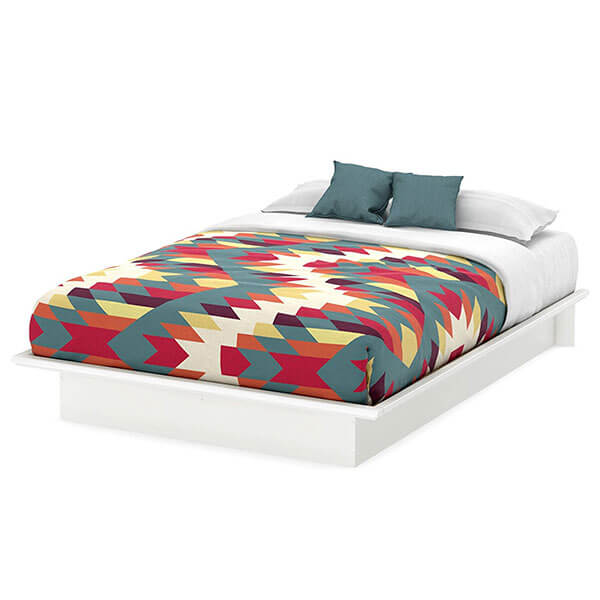 South Shore Basic Collection Platform Bed