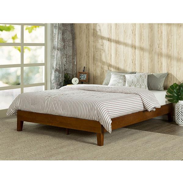 Zinus Deluxe Wood Platform Bed