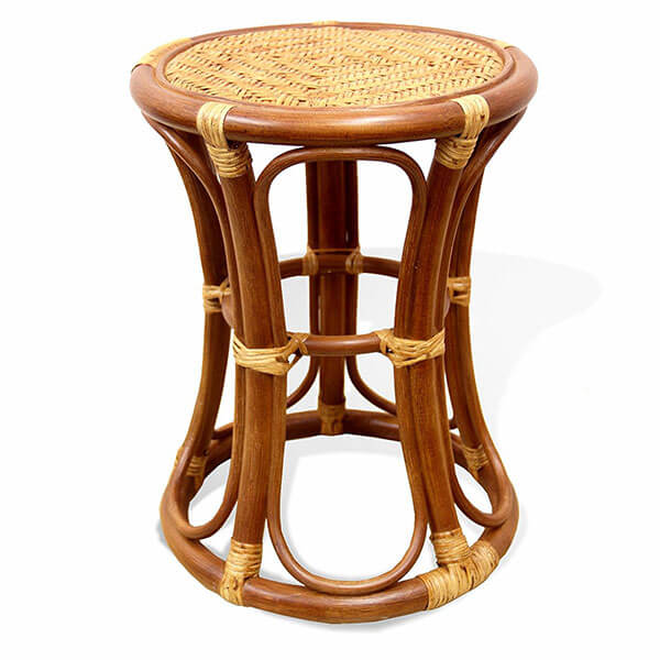 Breeze Handmade Rattan Wicker Stool