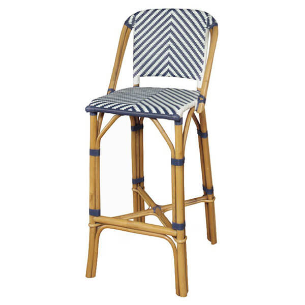Progressive Furniture Rum Point Rattan Bar Stool