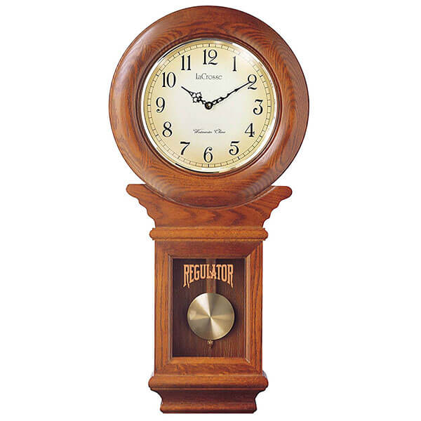 River City Clocks American Regulator Wall Clock