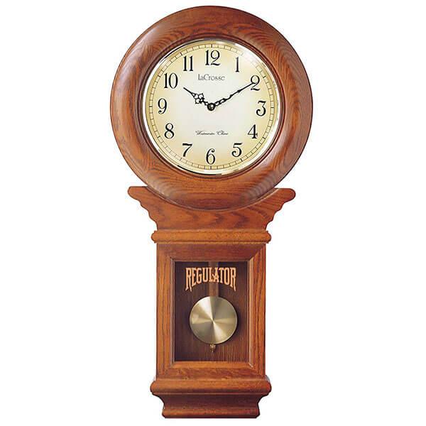 River City Clocks American Regulator Wall Clock