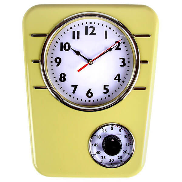 Lily's Home Retro Kitchen Clock