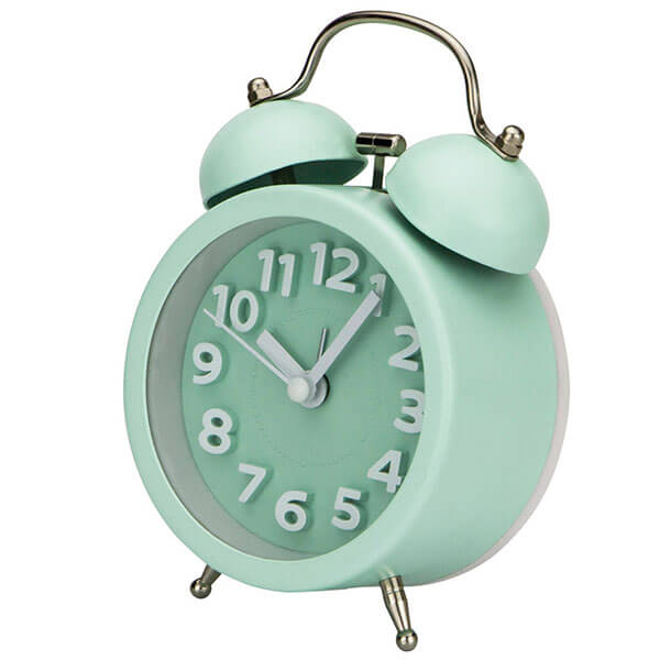PILIFE Vintage Bedside Alarm Clock