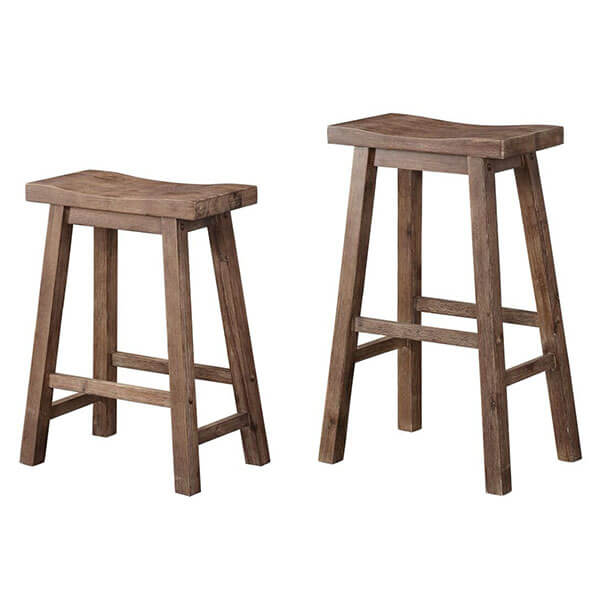 Boraam Sonoma Counter Height Saddle Stool