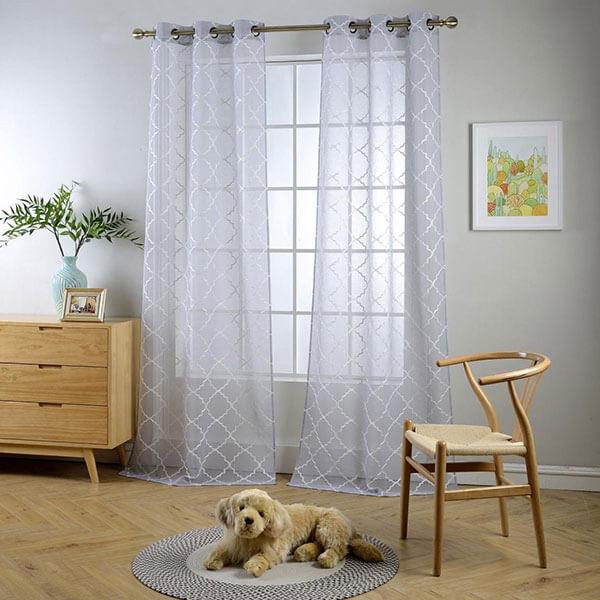 Miuco Sheer Window Curtains