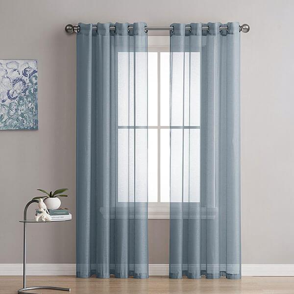 LinenZone Semi-Sheer Curtains