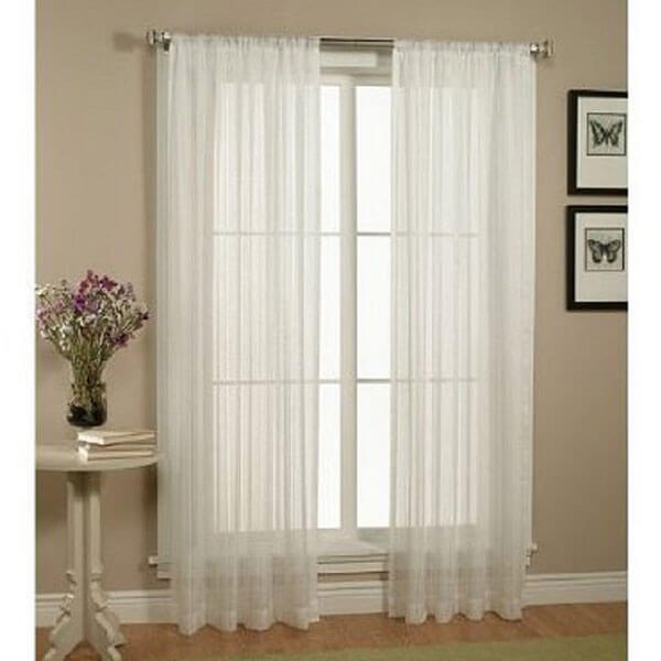 WPM Sheer Window Curtains