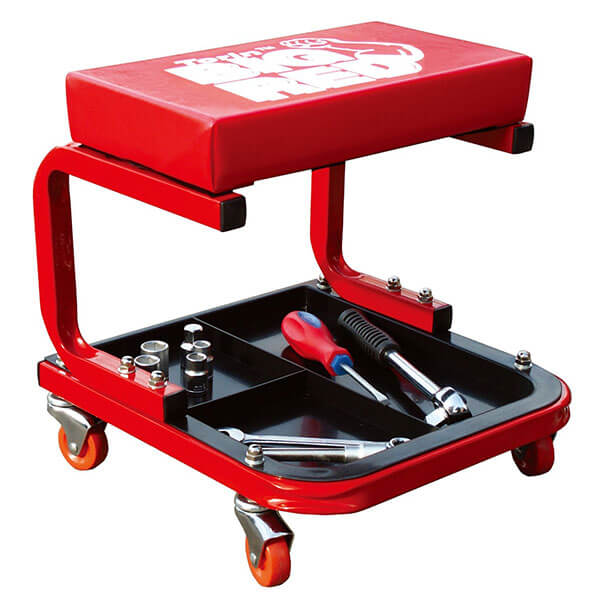 Torin Big Red Rolling Shop Stool