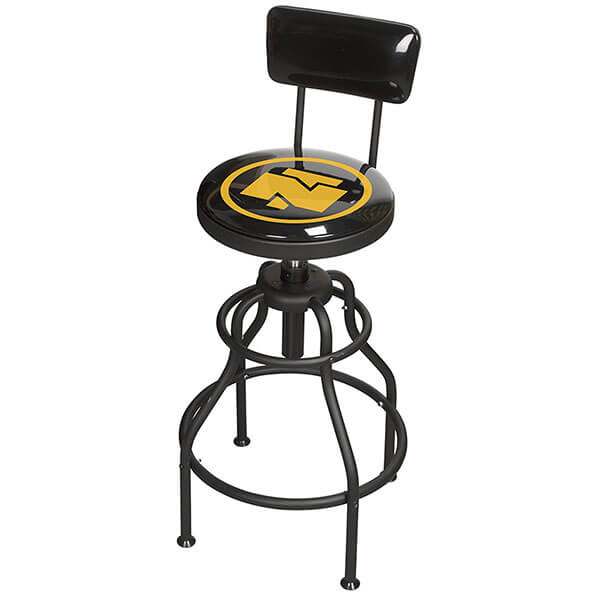 Northern Tool Adjustable Shop Stool with Backrest