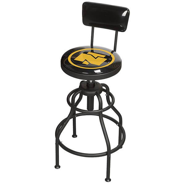 Northern Tool Adjustable Shop Stool with Backrest