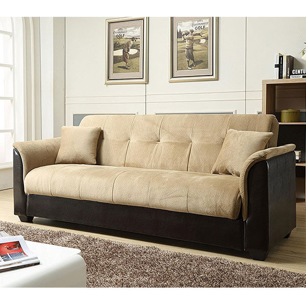 NHI Express Melanie Futon Sofa Bed