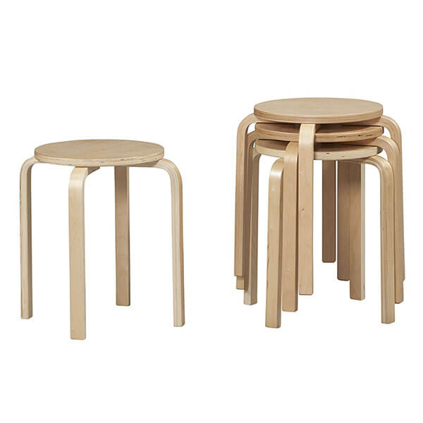 Linon Home Decor Stacking Stool (Set of 4)