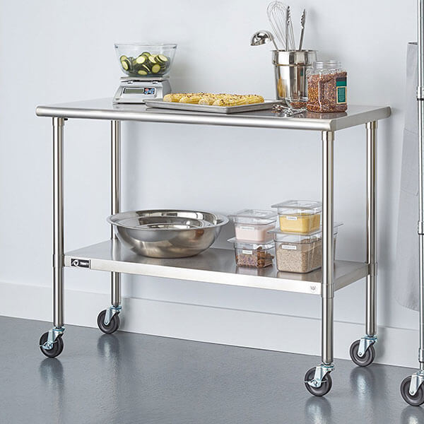 6 Best Stainless Steel Kitchen Carts Of 2020 Easy Home Concepts