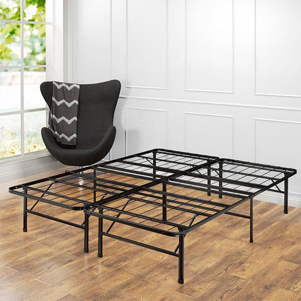Zinus SmartBase Steel Platform Bed Frame