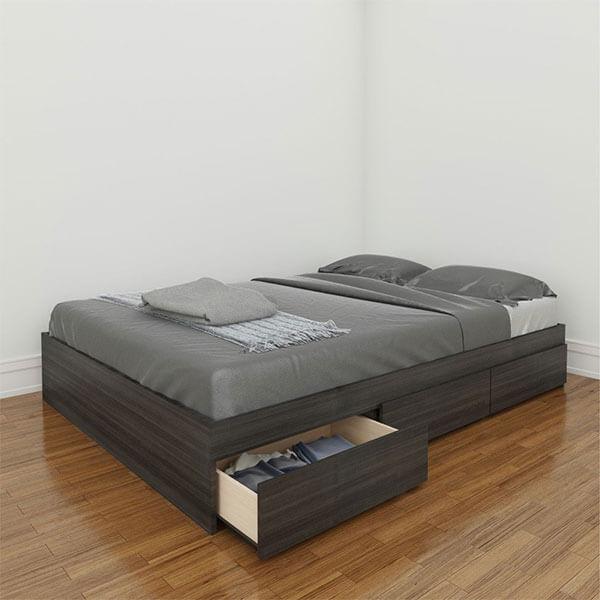 Nexera Allure Storage Bed Frame