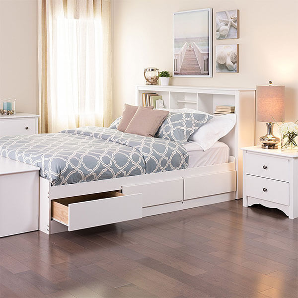 Prepac Mate's Platform Storage Bed