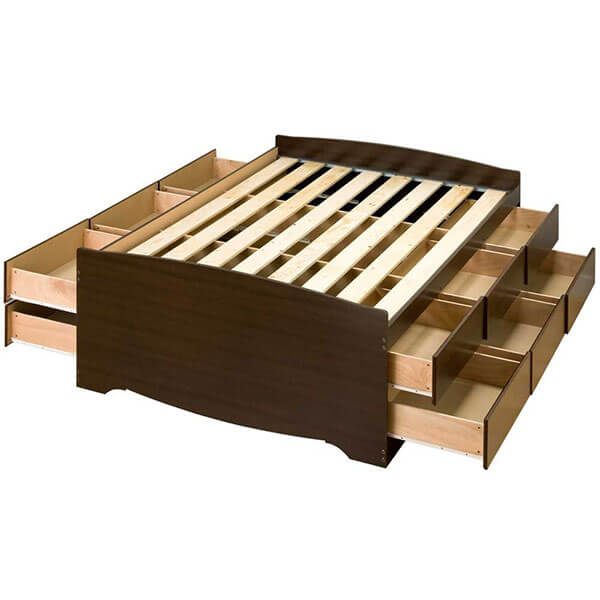 Prepac Captain's Storage Bed Frame