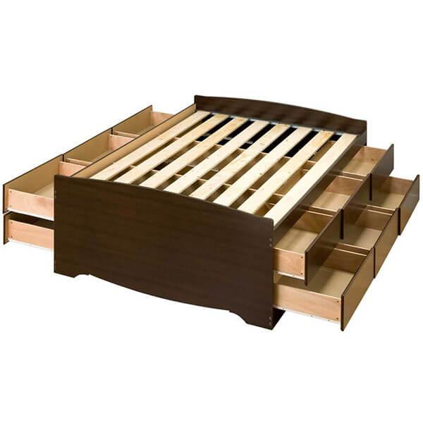 Prepac Captain's Storage Bed Frame