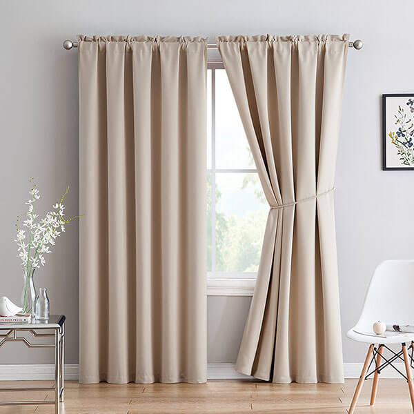 LinenZone Premium Insulated Thermal Curtains