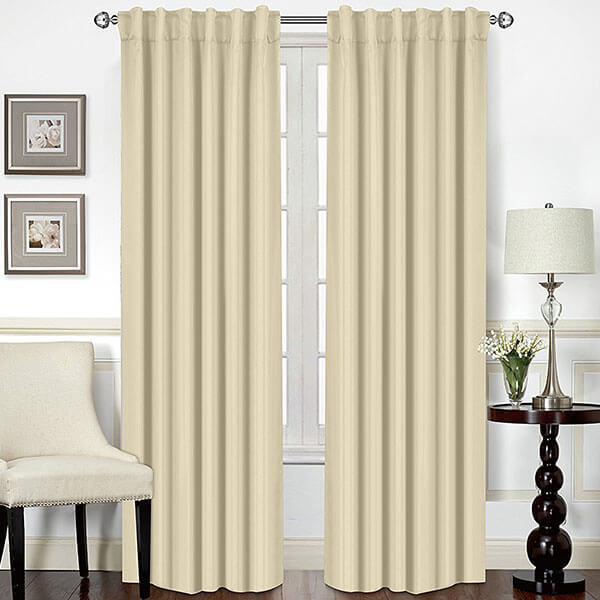Utopia Bedding Thermal Insulated Blackout Curtains