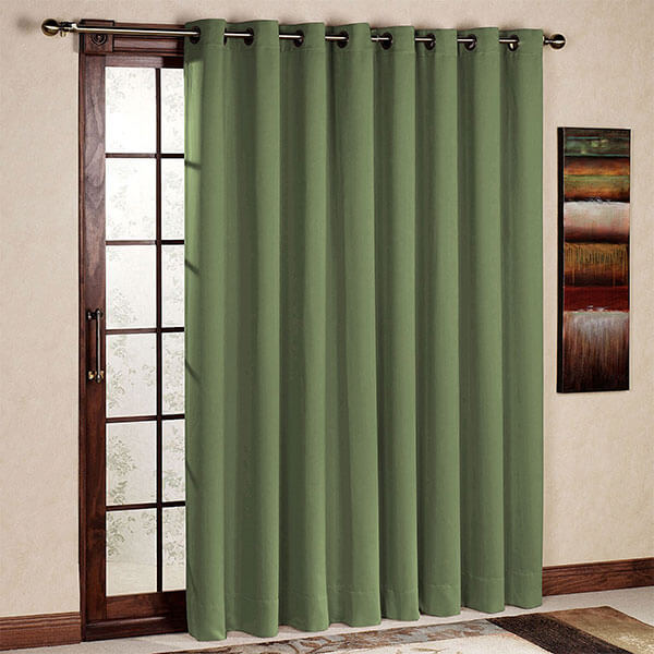 Rose Home Fashion Thermal Patio Door Curtain Panel