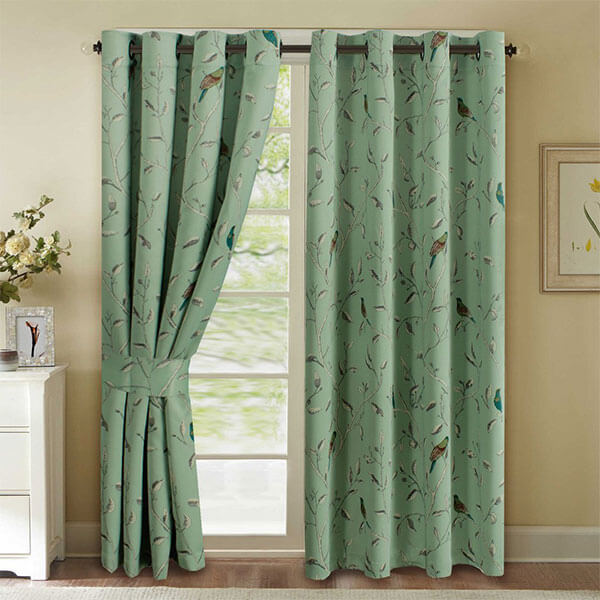 H.Versailtex Patterned Thermal Blackout Curtains