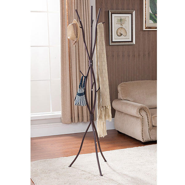 Kings Brand Metal Tree Branch Coat & Hat Rack
