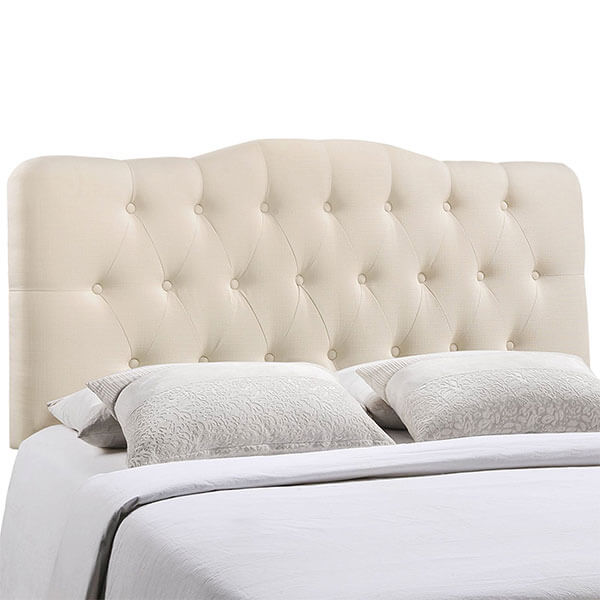 Modway Annabel Tufted Button Fabric Headboard