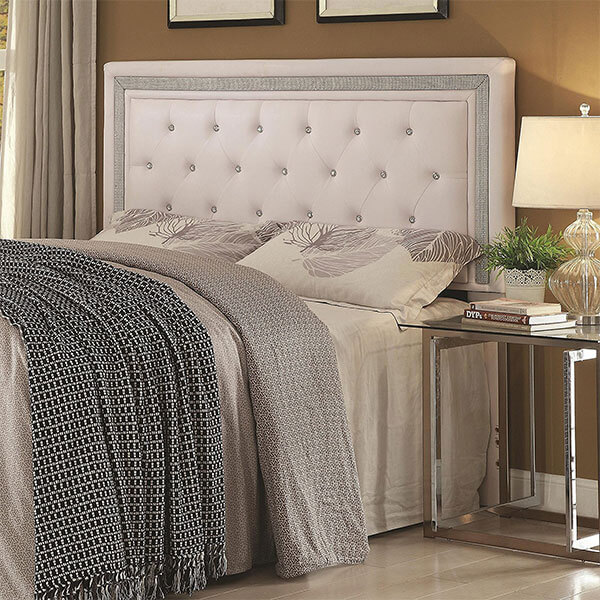 Coaster Home Furnishings Contemporary Tufted Headboard