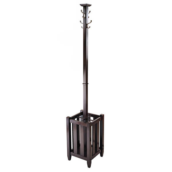 Winsome Memphis Coat Tree and Umbrella Rack