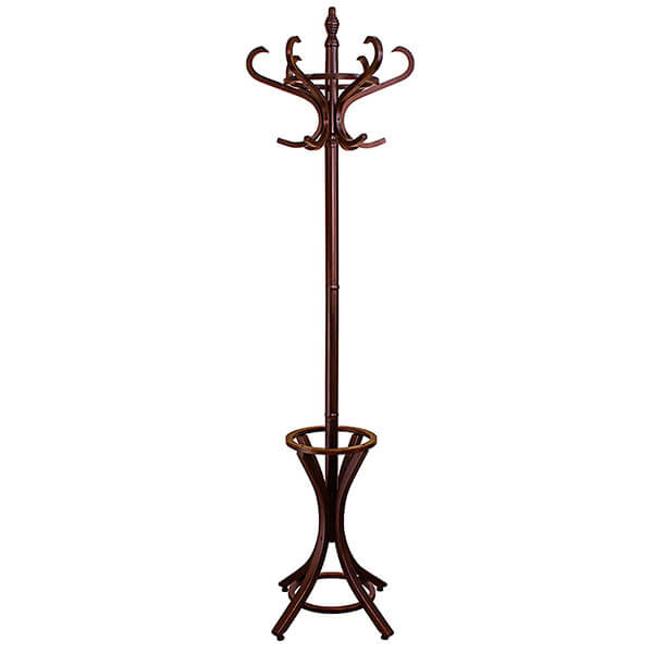 Headbourne Floor Standing Hat and Coat Rack with Umbrella Stand
