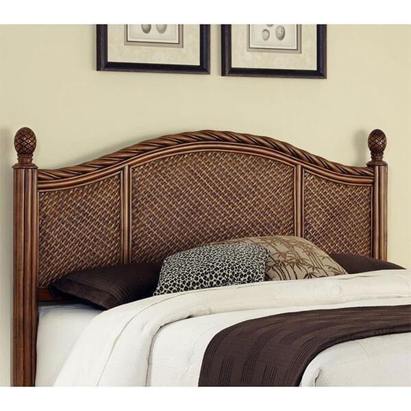 Home Styles Marco Island Wicker Headboard