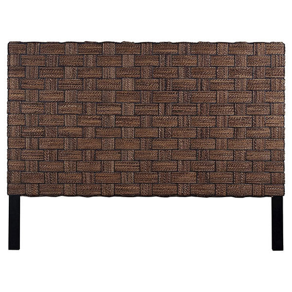 Crafted Home Logan Wicker Headboard