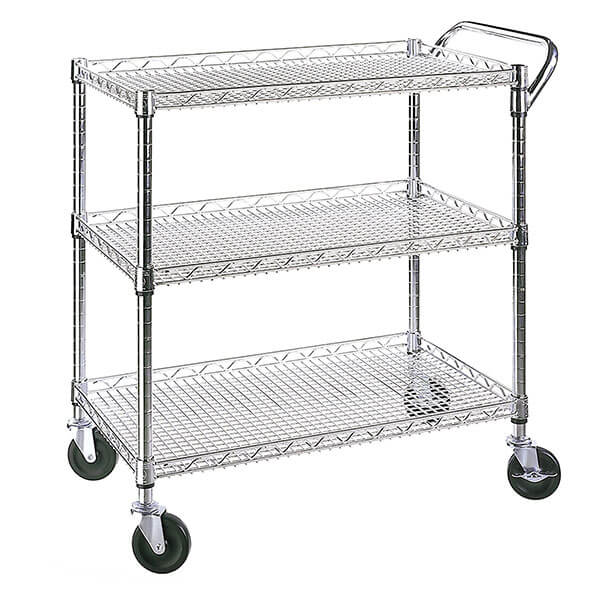 Ordinaire Seville Classics All Purpose Wire Kitchen Cart